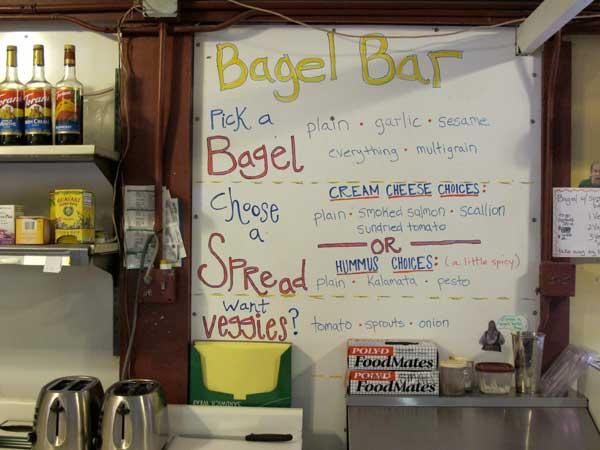 Wanna bagel?