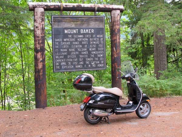 Mt. Baker marker