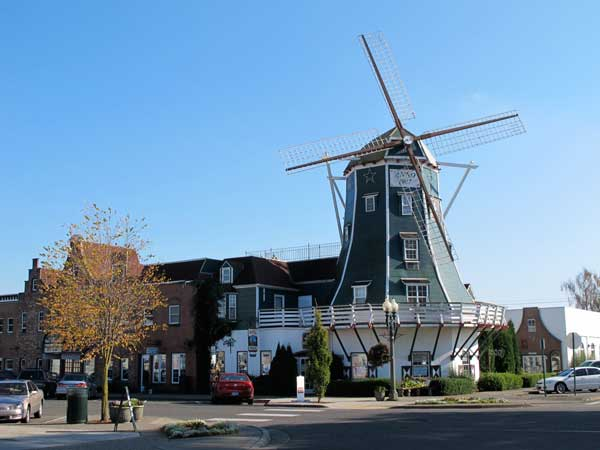 Downtown windmill