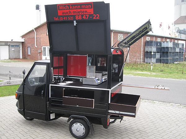 Ape food cart