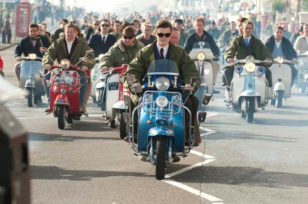 Scooters in 'Brighton Rock'