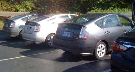 Toyota Prii
