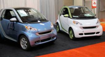 Petrol and electric smarts