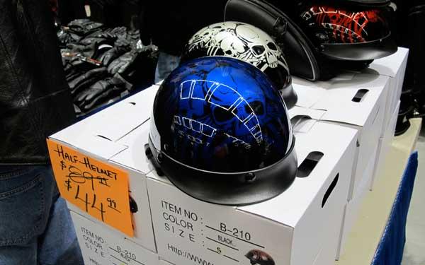 Half helmets