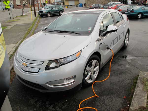 Volt, plugged in