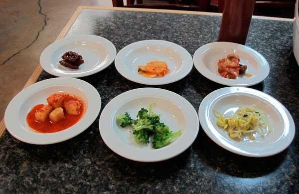 Korean condiments