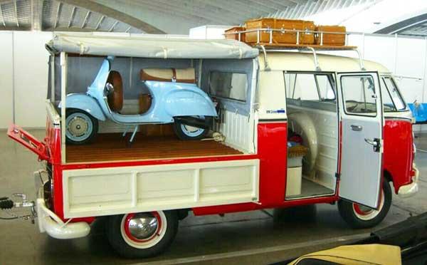 Old-skool VW pickup