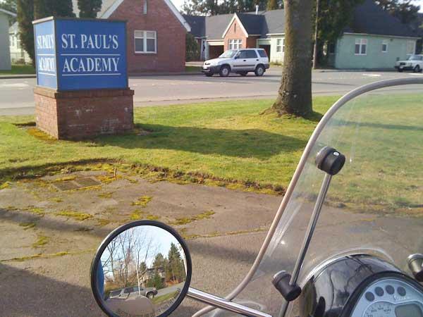 St Pauls Academy sign