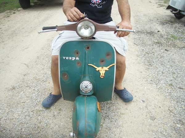 Texas Vespa