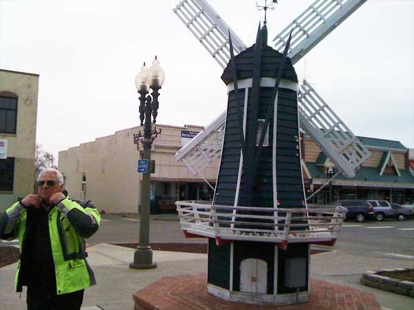 Restroom windmill