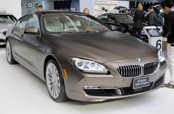 BMW 6-Series Gran Coupé