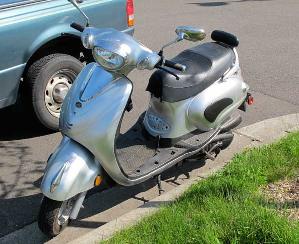 Off-brand scooter
