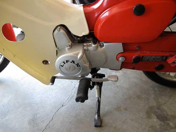 Lifan 120cc engine