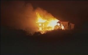 Fire in Colorado Springs