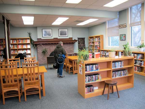 Fairhaven Library interior