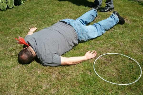 Lawn darts victim