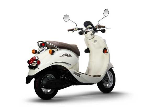SYM Mio 50, rear