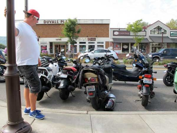Scooters in Duvall