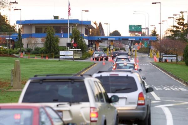 Old Blaine border crossing