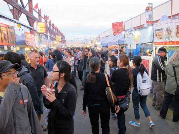 Night Market crowd