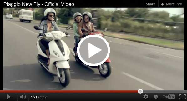 Piaggio Fly video