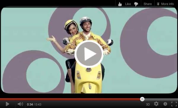 Indian Vespa commercial
