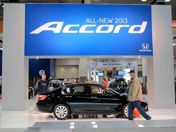 Accord display