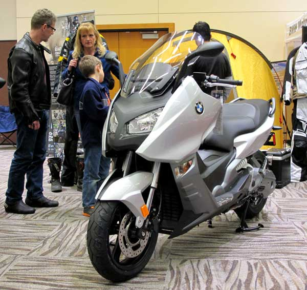 BMW C600 Sport scooter