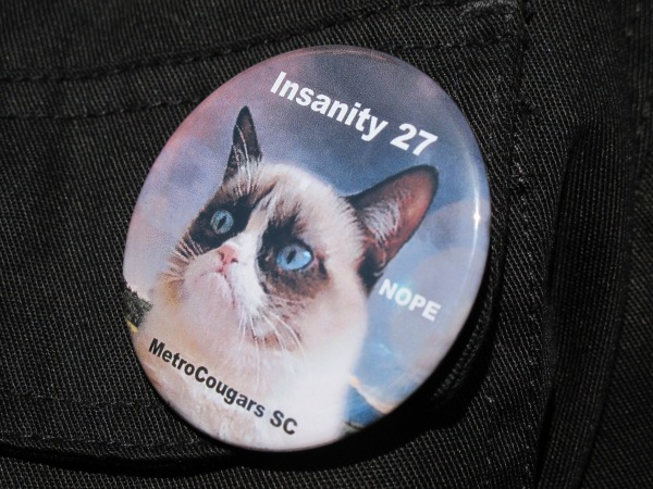 Insanity 27 button
