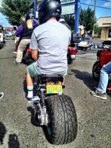 Ruckus rear tire