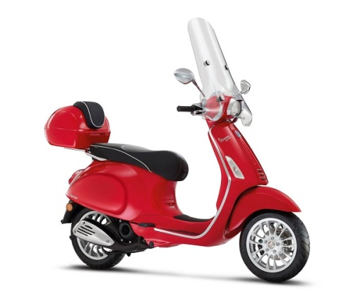 2015 Vespa Sprint accessorized