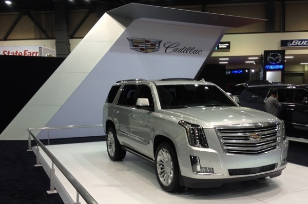Cadillac stand