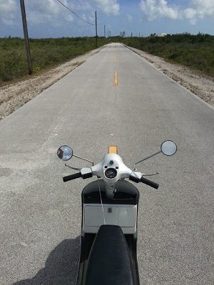 Straight, flat highway