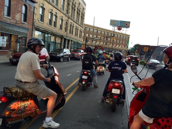 Scooters in Indy