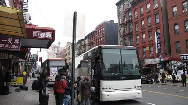 Chinatown bus, New York