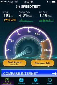 ATandT 4G LTE Wi-Fi