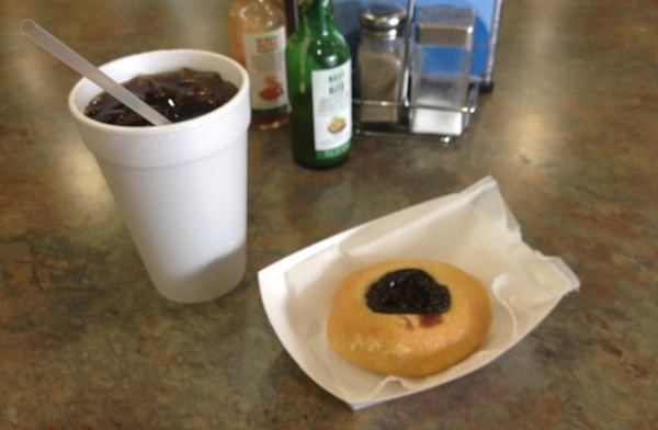 Kolache and coke