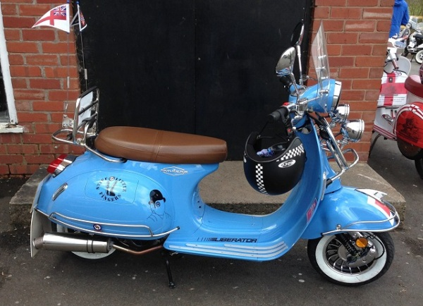 Vespa-like Asian modern
