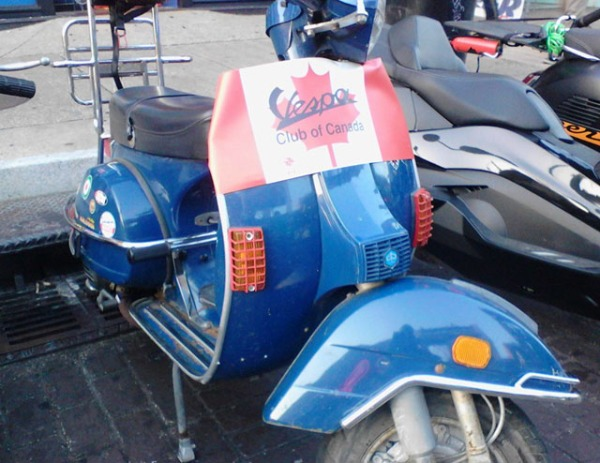 Representin' Vespa Club of Canada