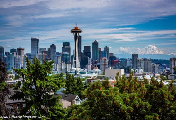 Downtown Seattle skylink