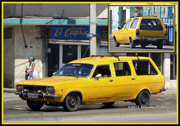 Cuban Opel station wagon