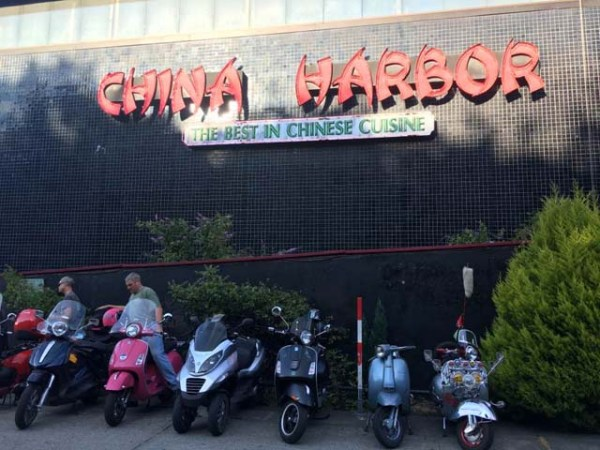 Scooters at China Harbor
