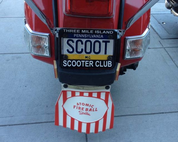 Pennsylvania SCOOT plate
