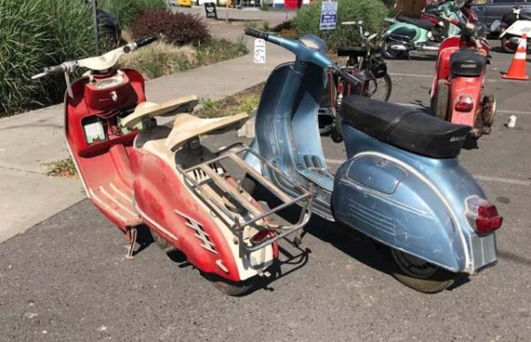 Auction scooters