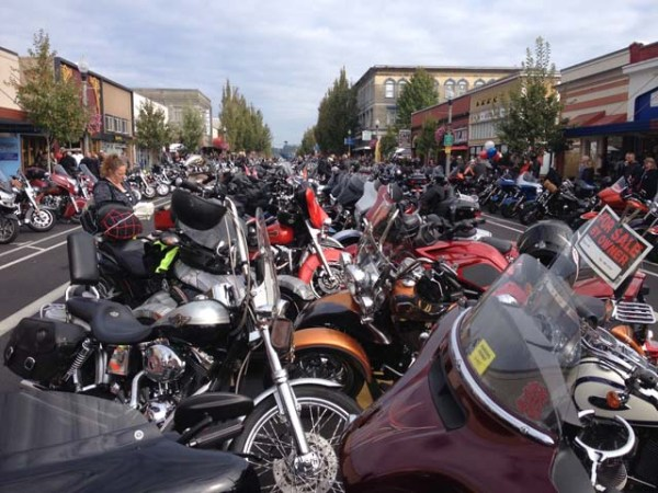 More bikes in downtown Anacortes