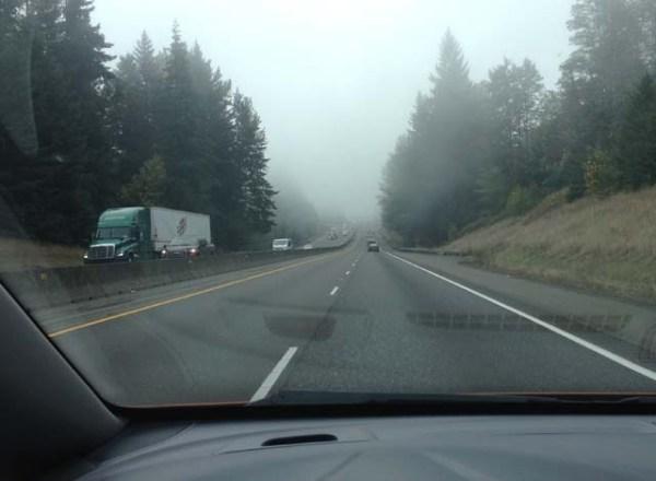 I-5 fog