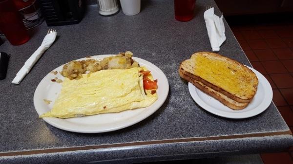 Bobo's California omelette