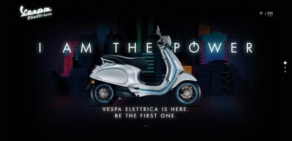 Vespa Elettrica home page
