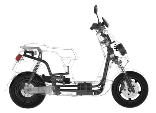 NIU scooter x-ray